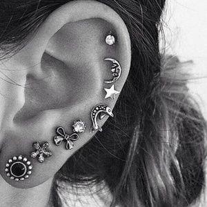 Jewelry - NEW 8pc boho stud earrings set